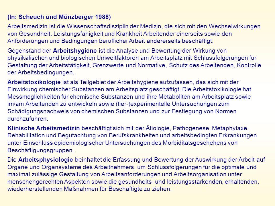 (In: Scheuch und Münzberger 1988)