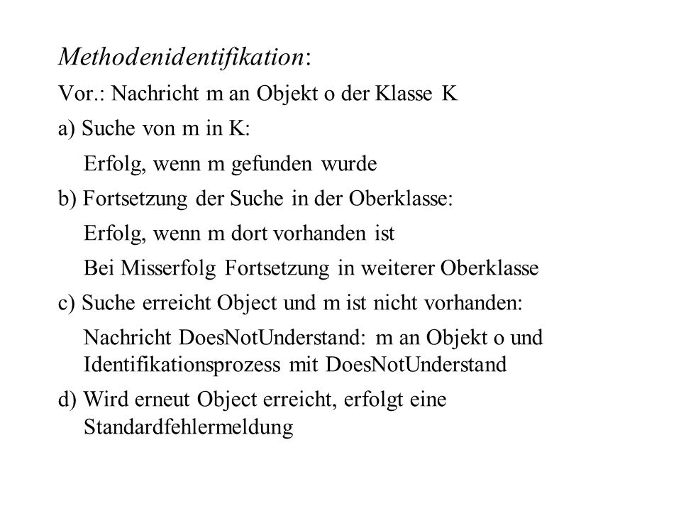 Methodenidentifikation:
