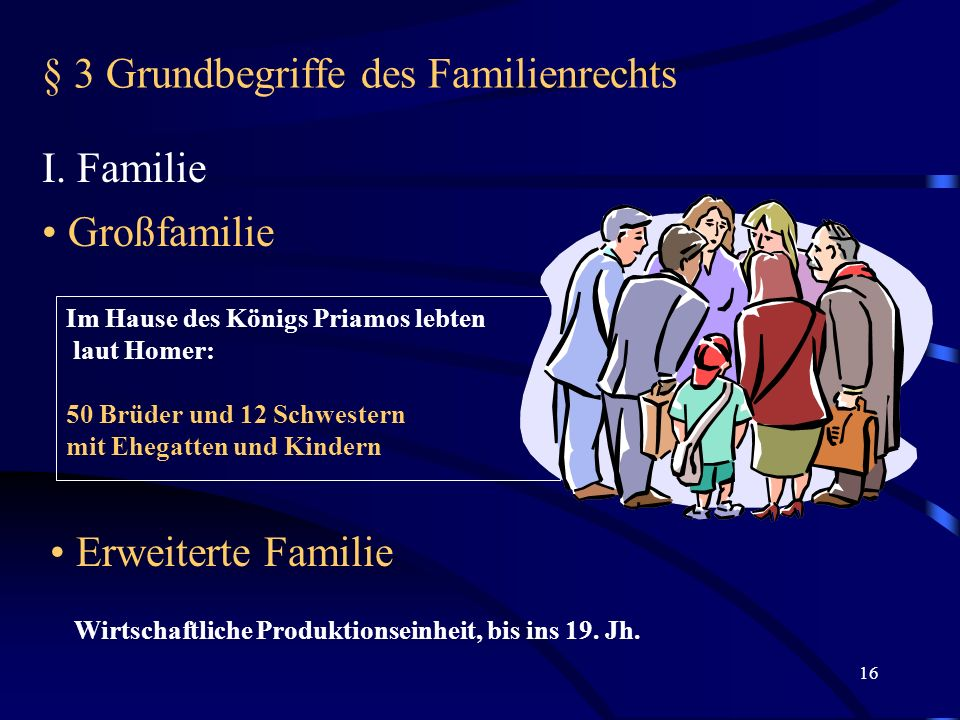 § 3 Grundbegriffe des Familienrechts