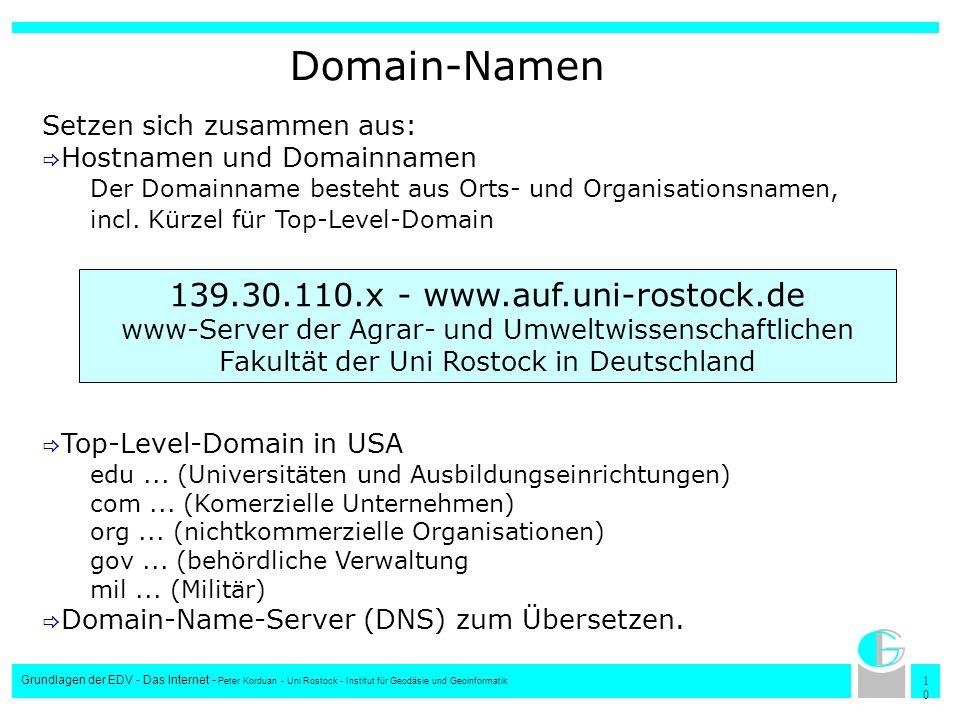 139.30.110.x - www.auf.uni-rostock.de