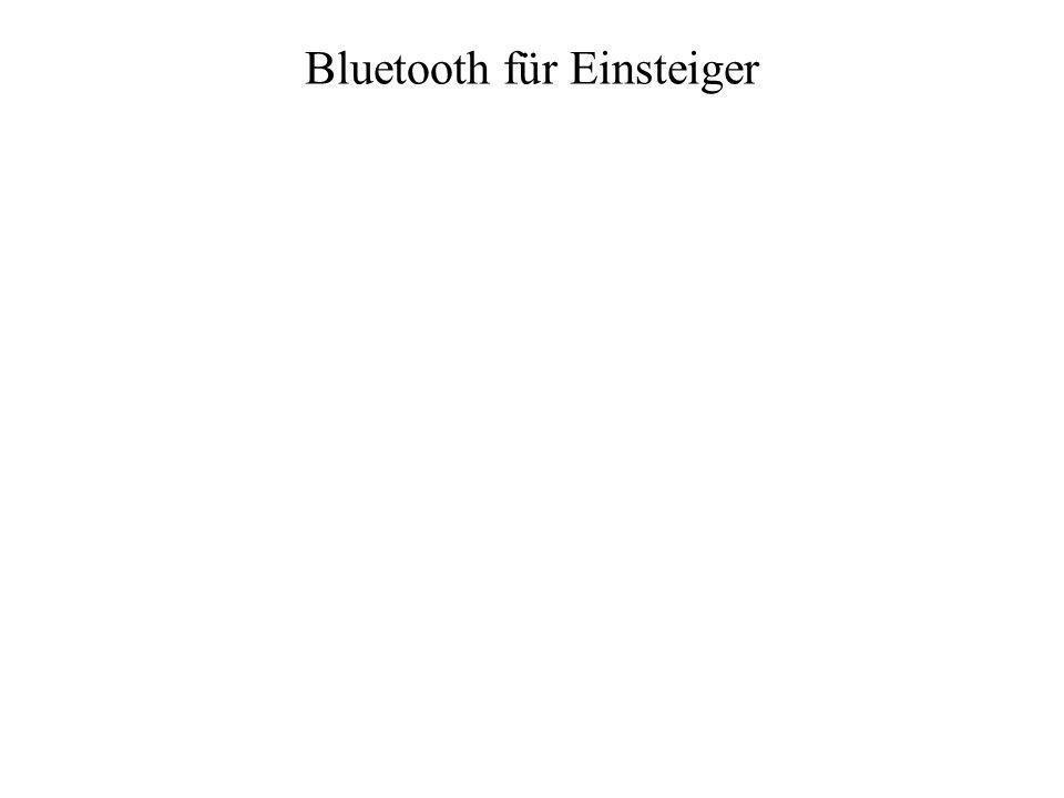 Bluetooth für Einsteiger