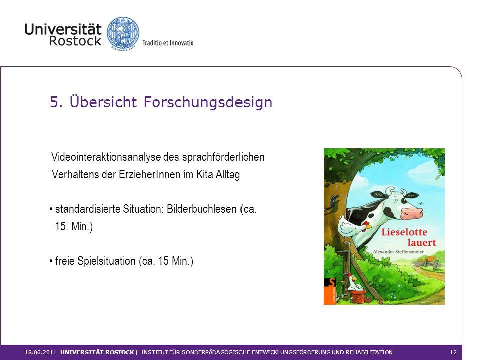 5. Übersicht Forschungsdesign