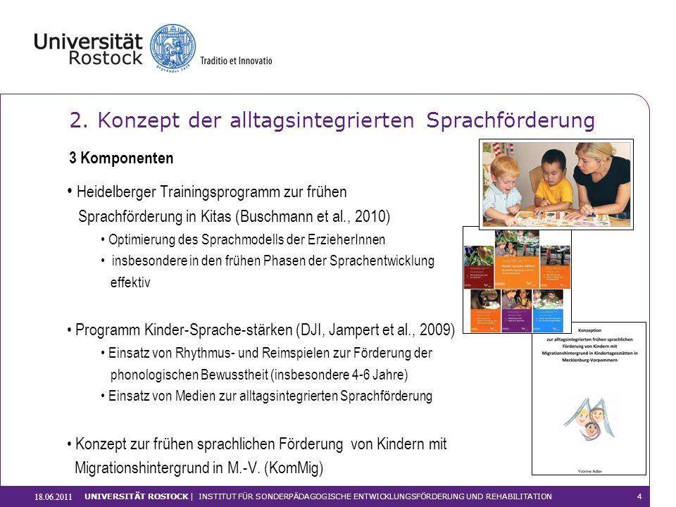 2. Konzept der alltagsintegrierten Sprachförderung