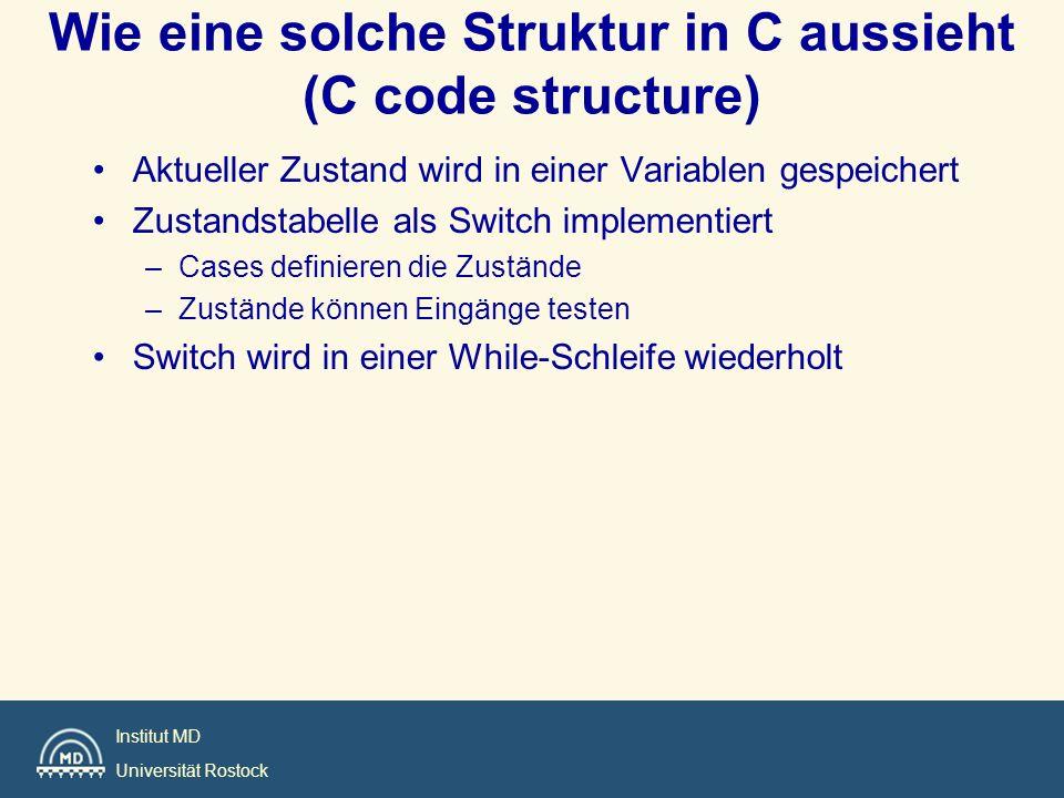 Wie eine solche Struktur in C aussieht (C code structure)