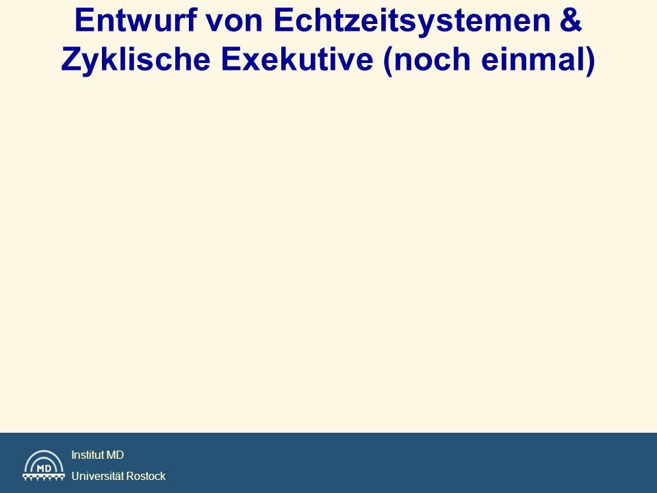 Entwurf von Echtzeitsystemen & Zyklische Exekutive (noch einmal)