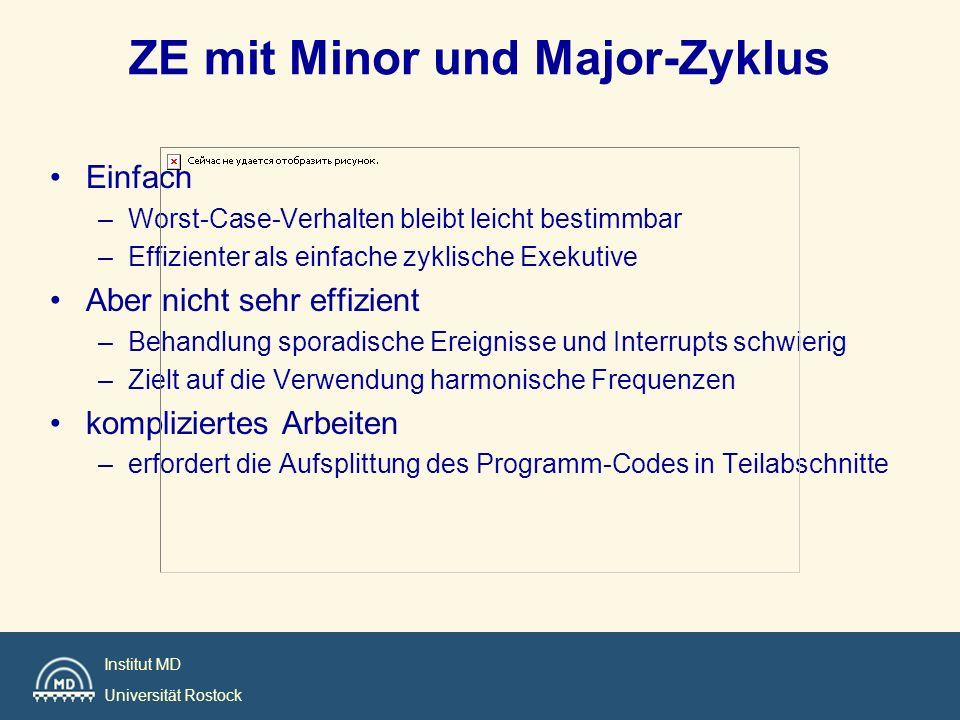 ZE mit Minor und Major-Zyklus