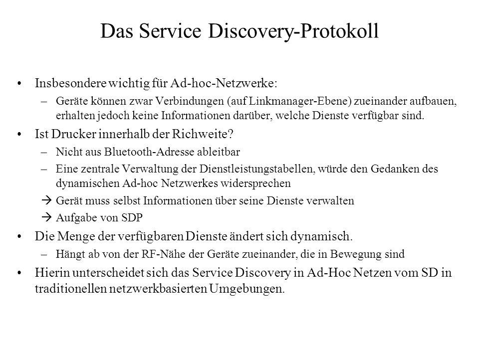 Das Service Discovery-Protokoll