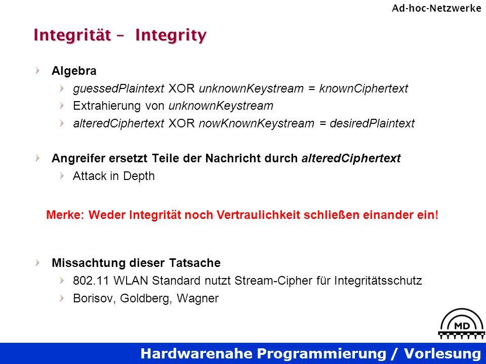 Integrität – Integrity