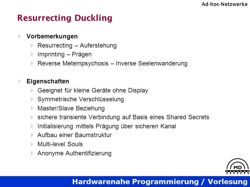 Resurrecting Duckling