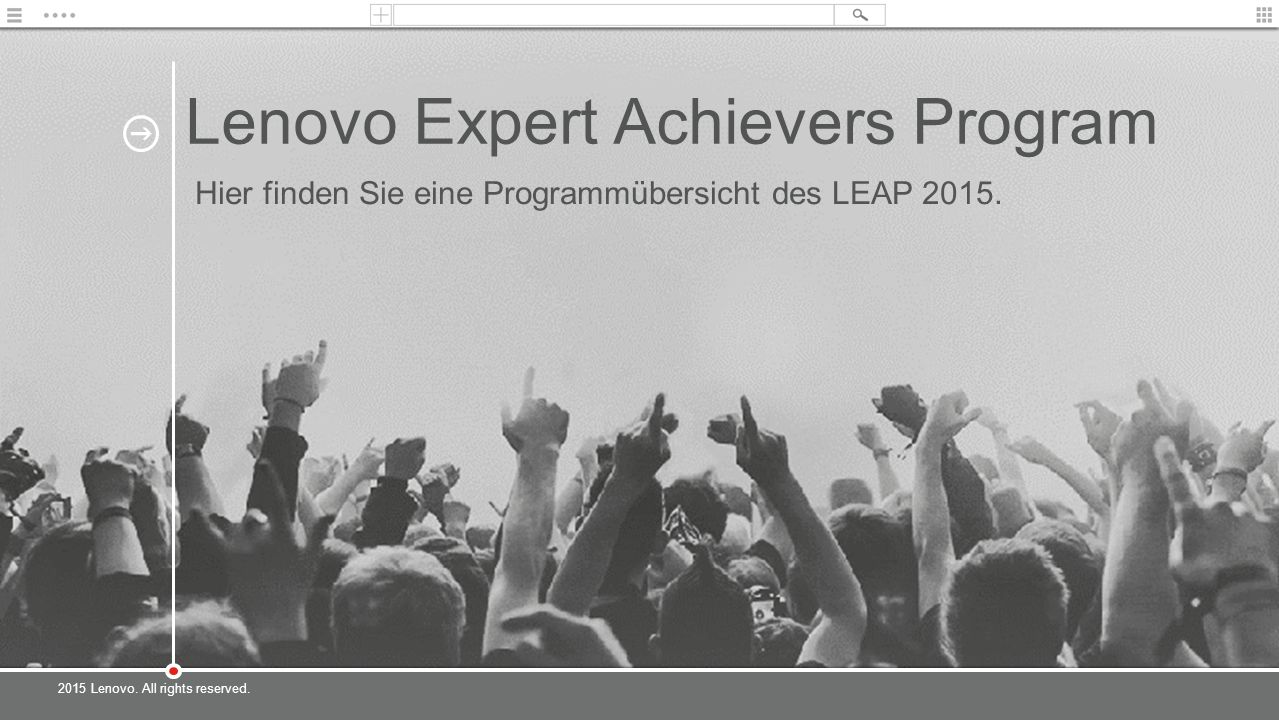 Lenovo Expert Achievers Program