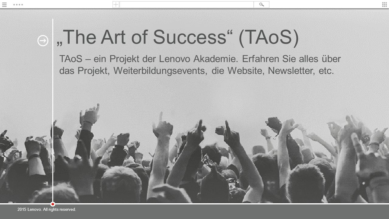 """The Art of Success (TAoS)"