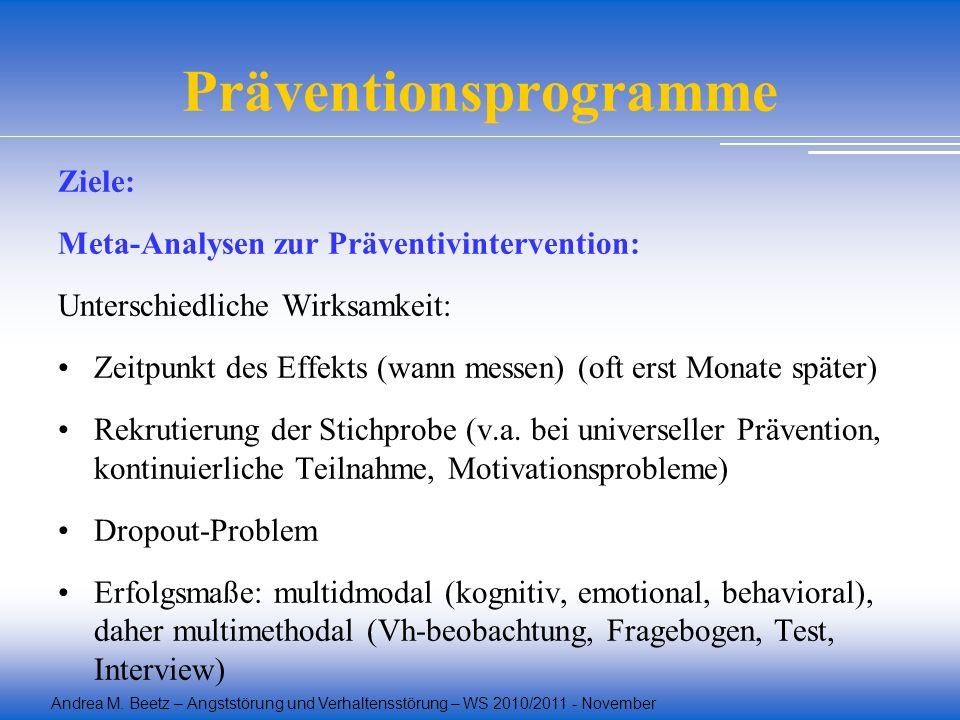 Präventionsprogramme