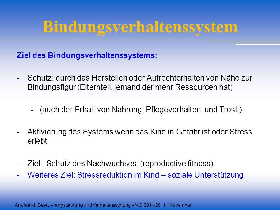 Bindungsverhaltenssystem