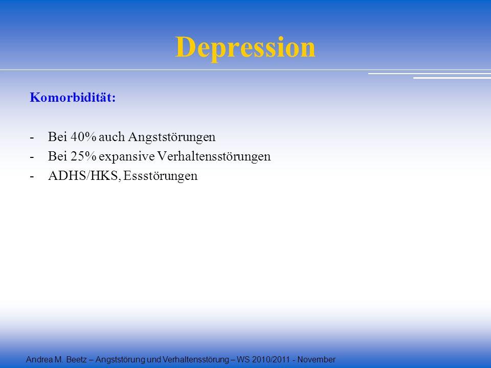Depression Komorbidität: Bei 40% auch Angststörungen