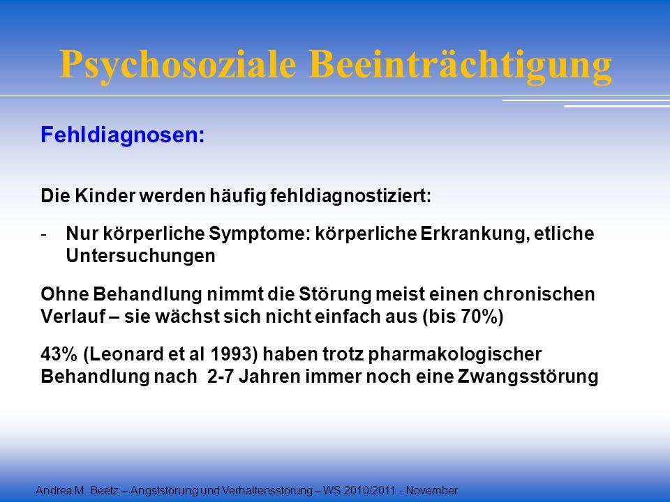 Psychosoziale Beeinträchtigung