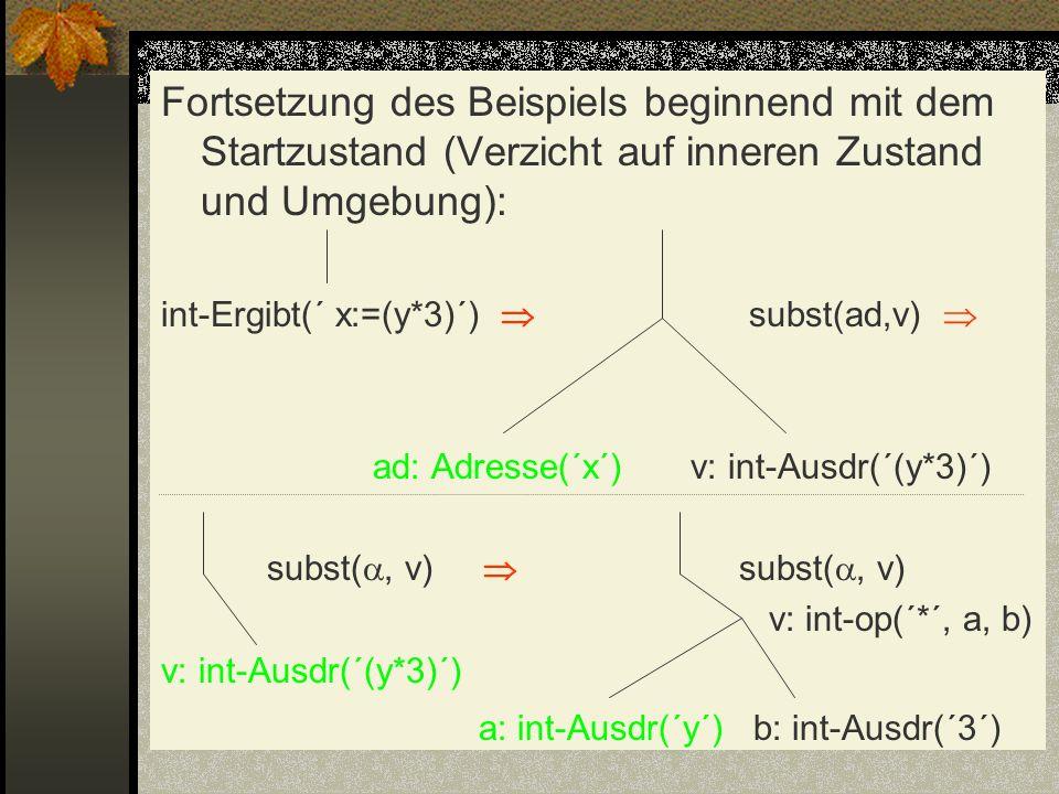 a: int-Ausdr(´y´) b: int-Ausdr(´3´)