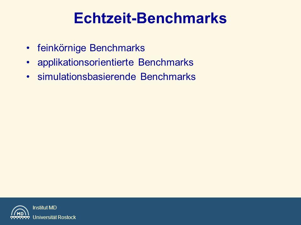 Echtzeit-Benchmarks feinkörnige Benchmarks