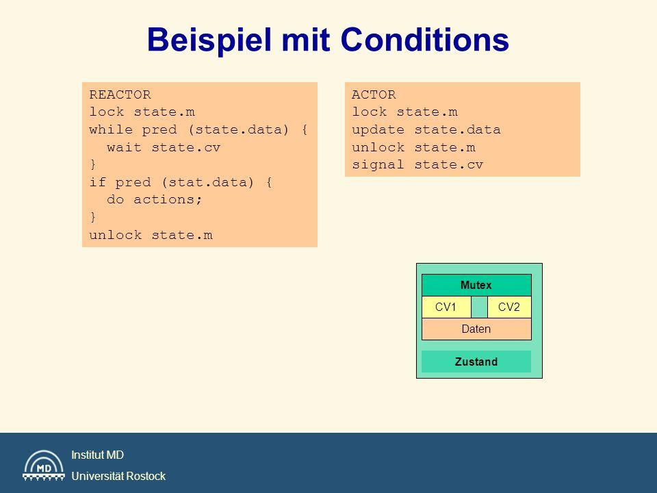 Beispiel mit Conditions