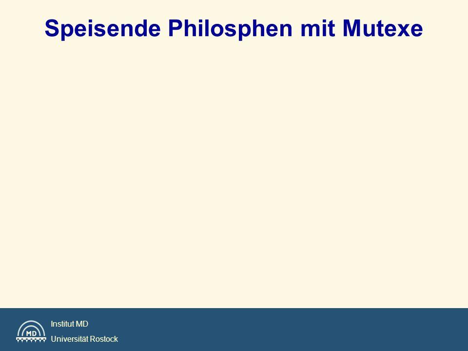 Speisende Philosphen mit Mutexe