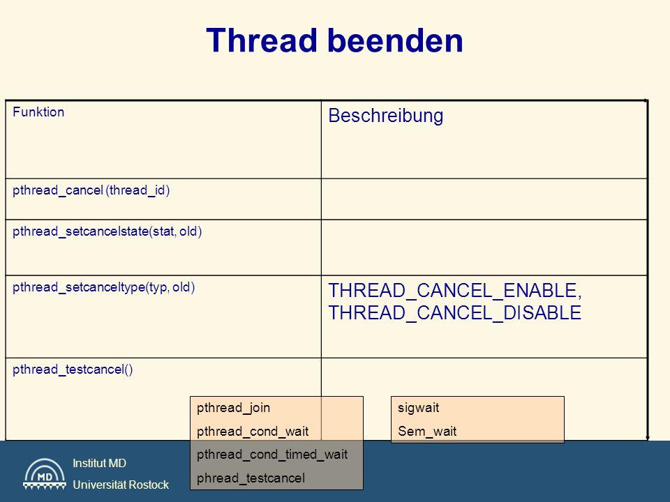 Thread beenden Beschreibung