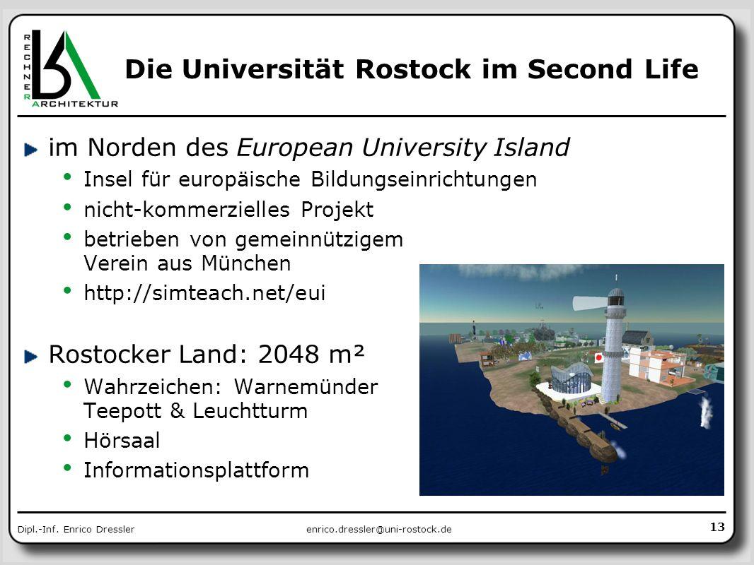 Die Universität Rostock im Second Life
