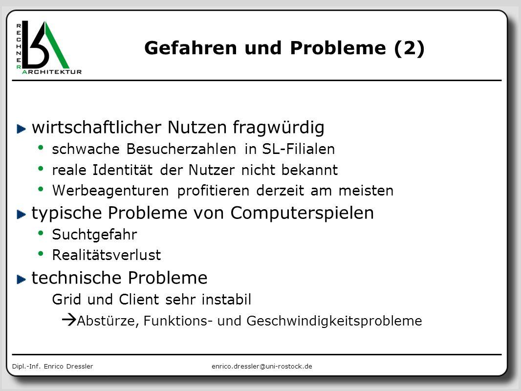 Gefahren und Probleme (2)