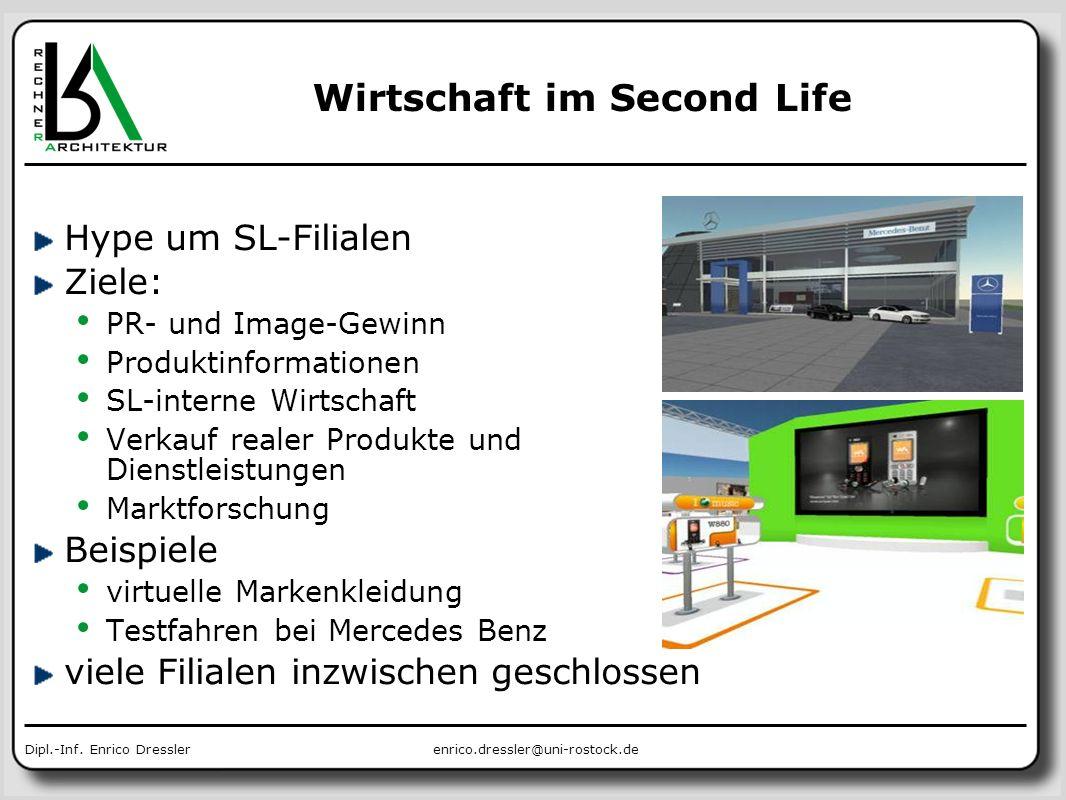 Wirtschaft im Second Life