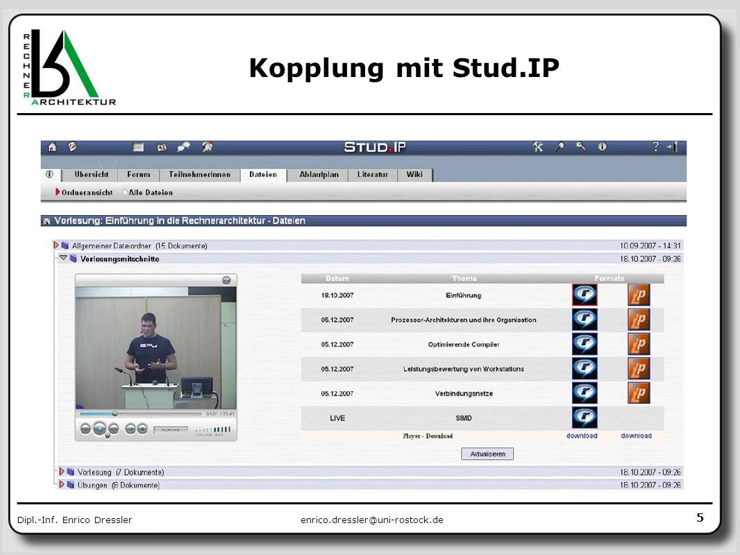 Kopplung mit Stud.IP im Rahmen einer Studienarbeit 5