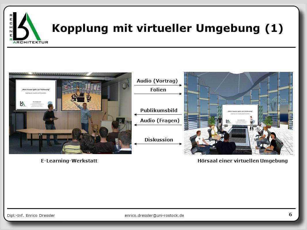 Kopplung mit virtueller Umgebung (1)