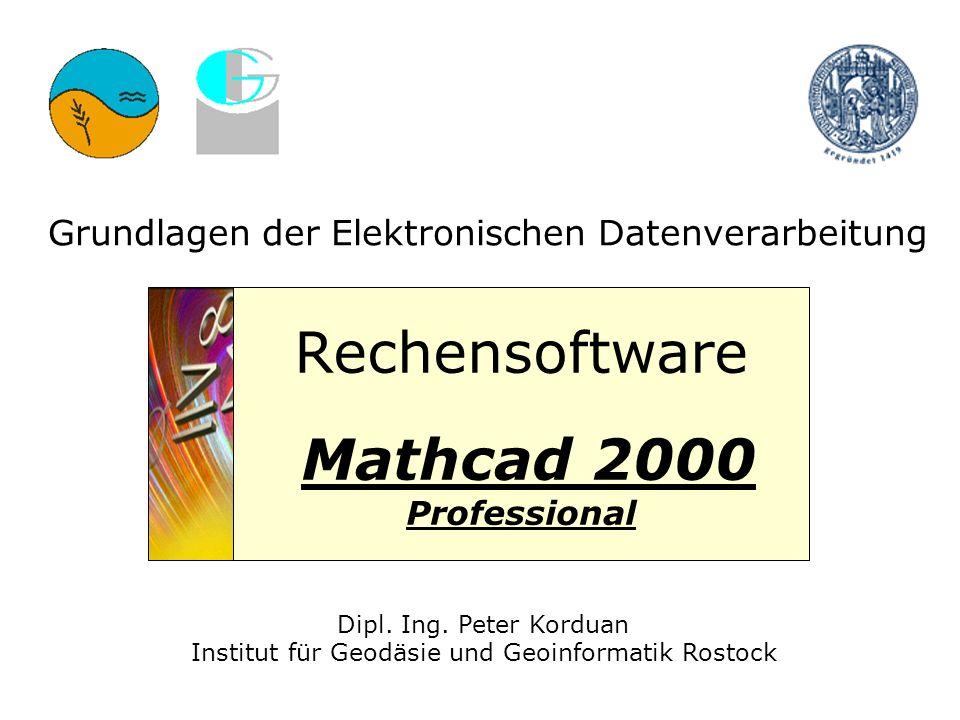 Grundlagen der Elektronischen Datenverarbeitung