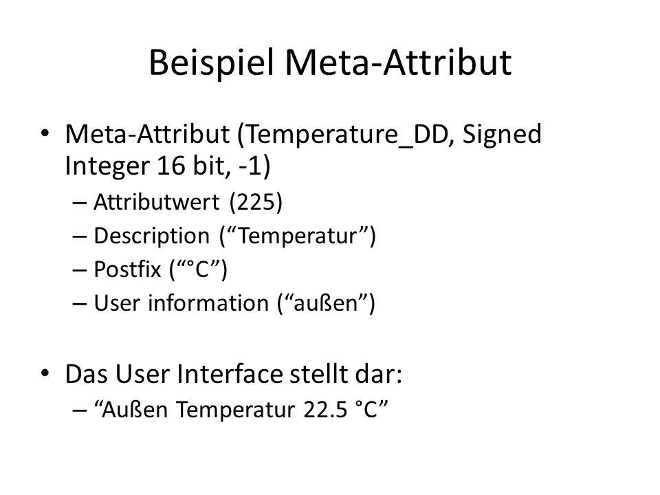 Beispiel Meta-Attribut