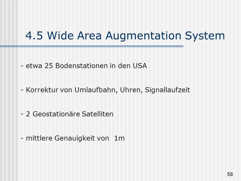 4.5 Wide Area Augmentation System