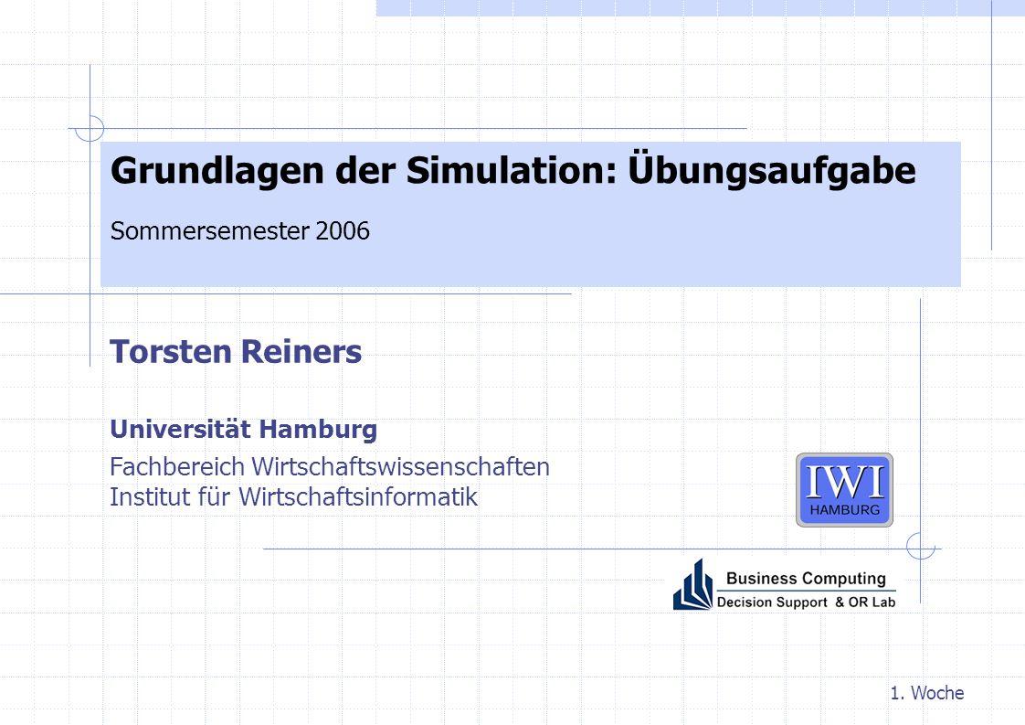 Grundlagen der Simulation: Übungsaufgabe