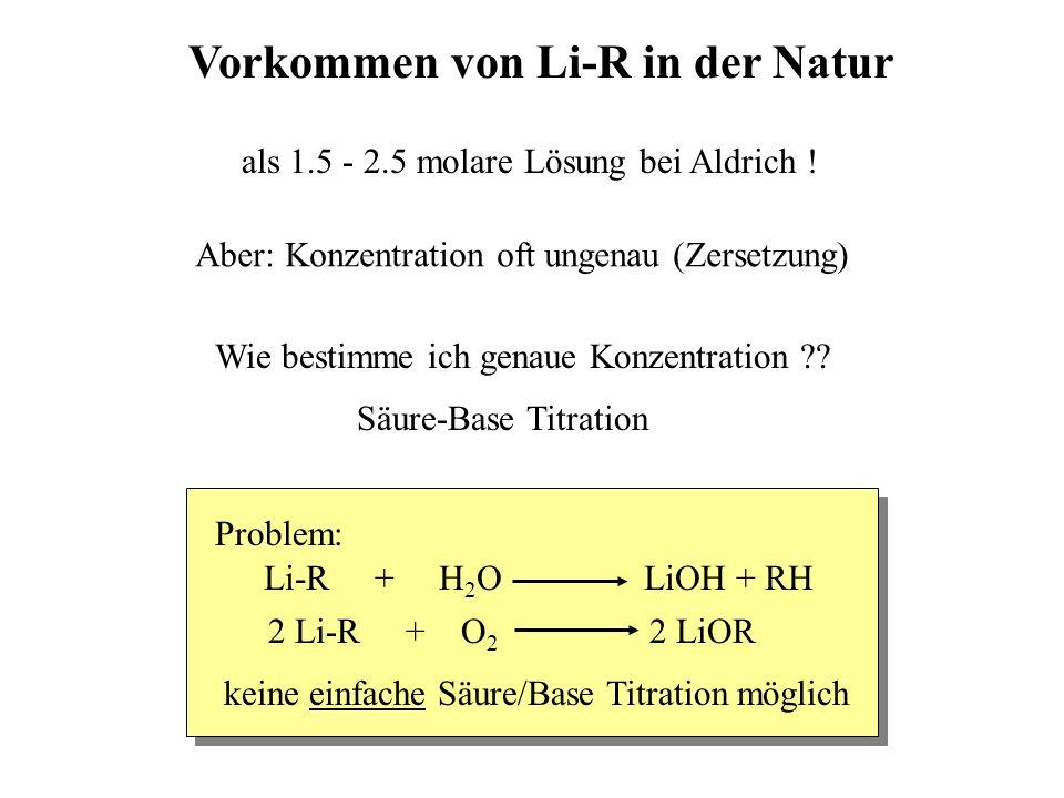 Vorkommen von Li-R in der Natur