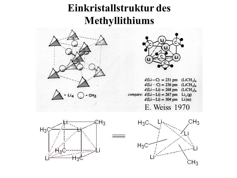 Einkristallstruktur des