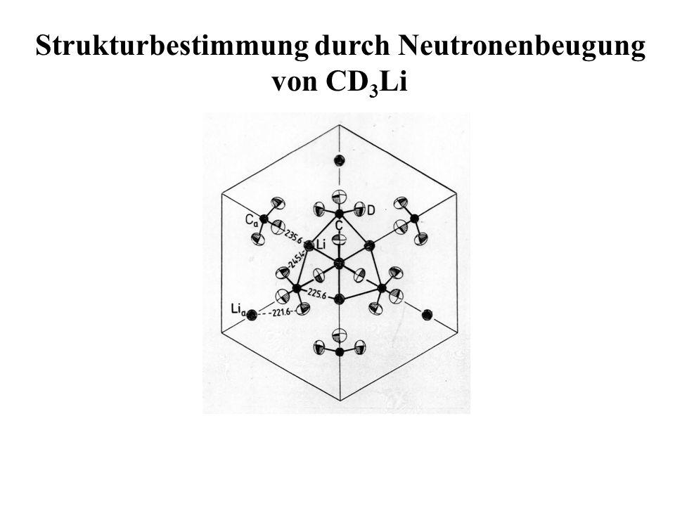 Strukturbestimmung durch Neutronenbeugung