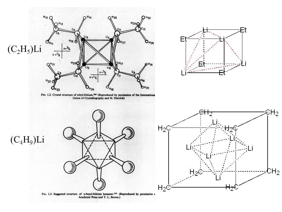 (C2H5)Li (C4H9)Li