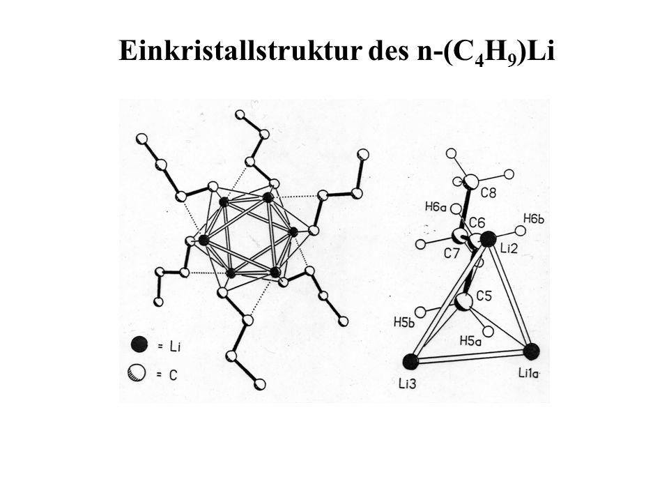 Einkristallstruktur des n-(C4H9)Li