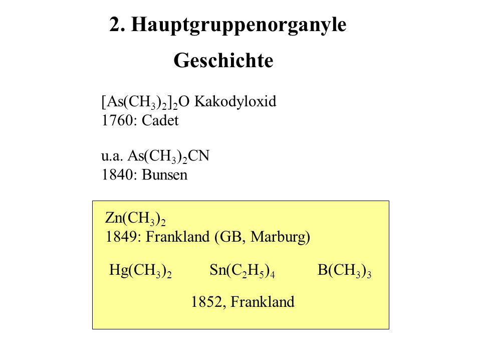 2. Hauptgruppenorganyle