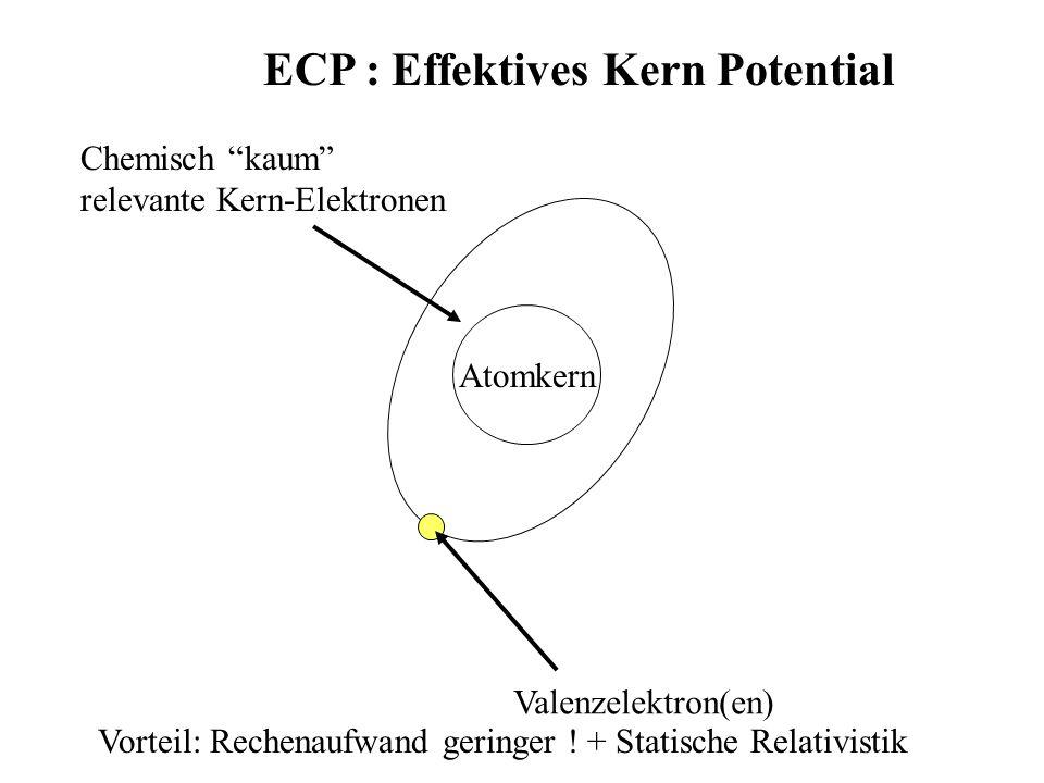 ECP : Effektives Kern Potential