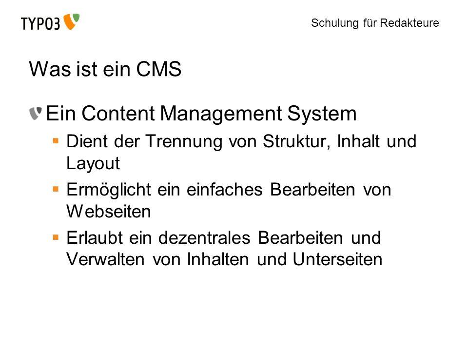 Ein Content Management System