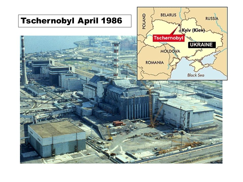 Tschernobyl April 1986