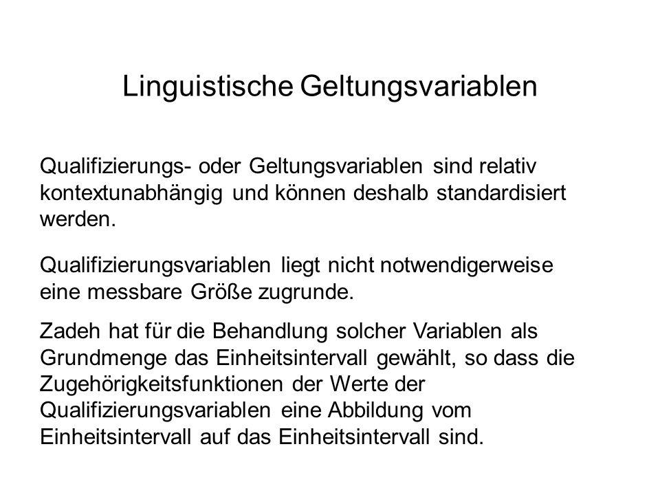 Linguistische Geltungsvariablen