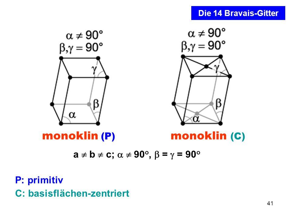 C: basisflächen-zentriert