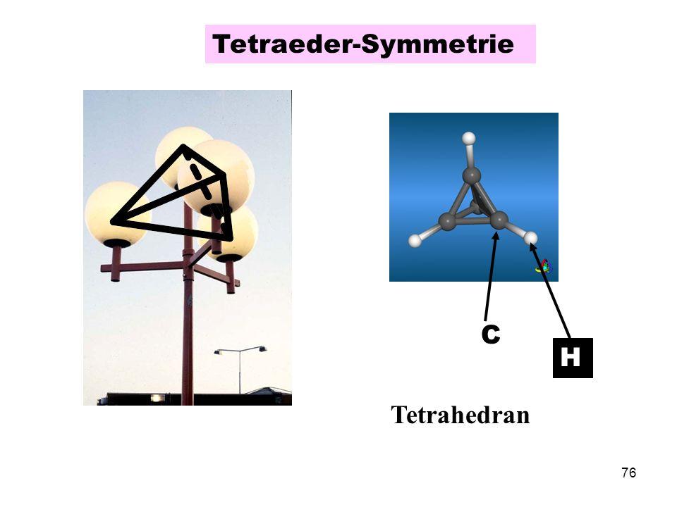 Tetraeder-Symmetrie Tetrahedran C H
