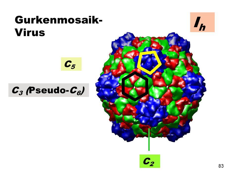 Gurkenmosaik-Virus Ih C5 C3 (Pseudo-C6) C2