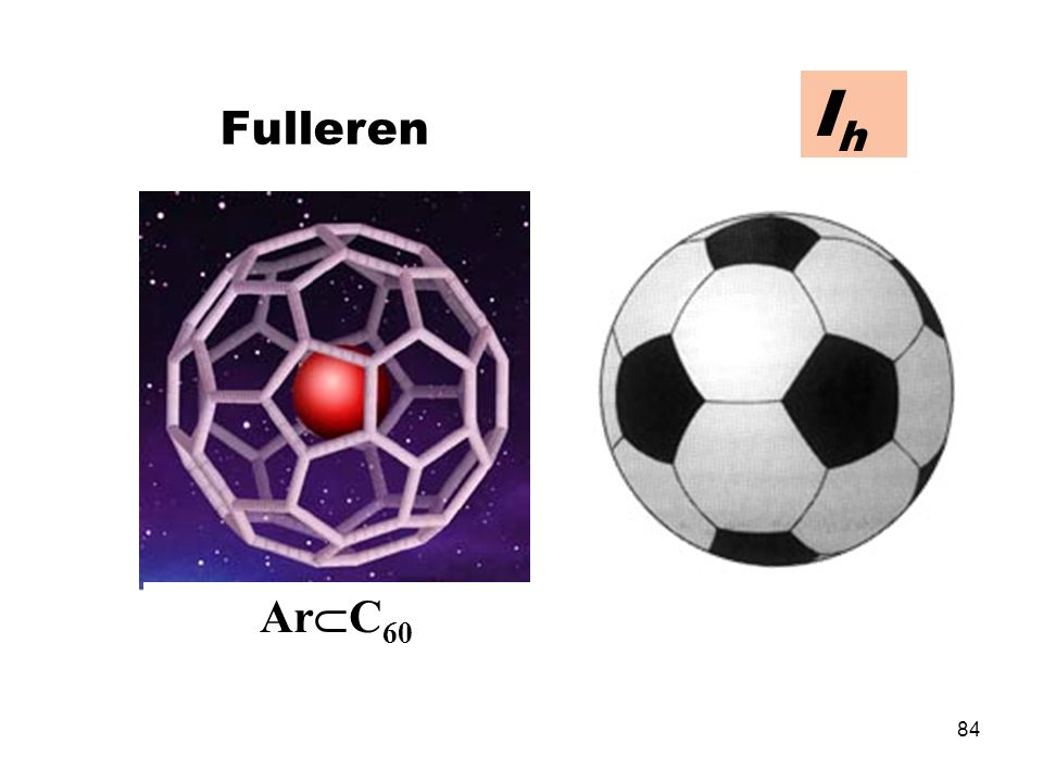 Ih Fulleren ArC60