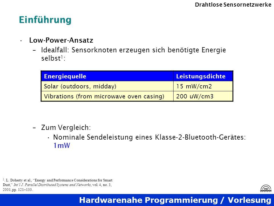Einführung Low-Power-Ansatz