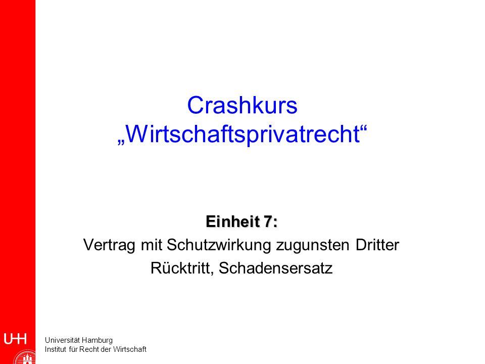 """Crashkurs """"Wirtschaftsprivatrecht"""