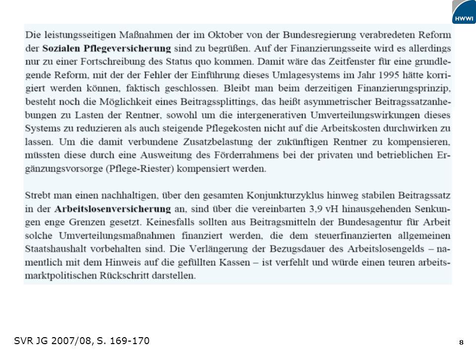 SVR JG 2007/08, S. 169-170 Titel